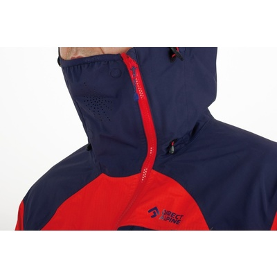 Jacke Direct Alpine Guide ziegel / indigo, Direct Alpine