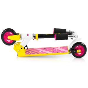 Scooter Spokey DUKE Wheels 125 mm, gelb-pink, Spokey