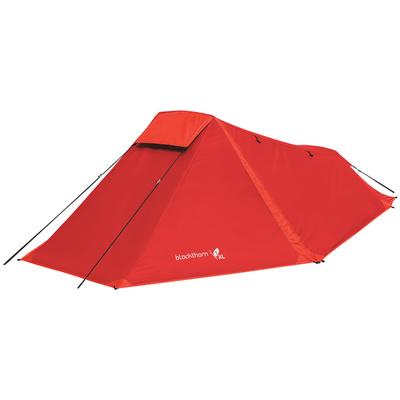 Zelt HIGHLANDER Schwarzdorn 1 XL red