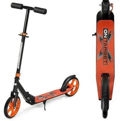 Scooter Spokey HASBRO NOISE schwarz-orange, Spokey