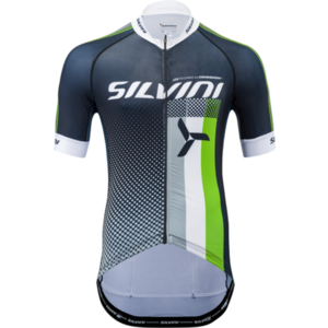 Herren Radsport Dress Silvini TEAM MD836 schwarz/grün, Silvini