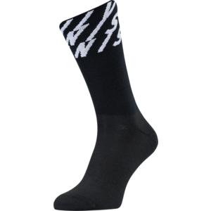 Radsport Socken Silvini Oglio UA1634 schwarz/weiß, Silvini