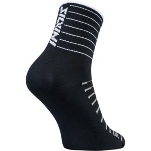 Radsport Socken Silvini Bevera UA1659 schwarz/weiß, Silvini