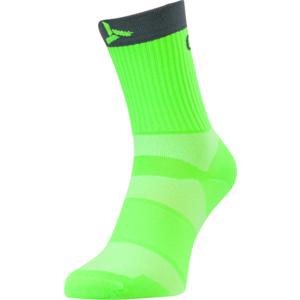 Radsport Socken Silvini Orato UA1660 grün-holzkohle, Silvini