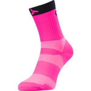 Radsport Socken Silvini Orato UA1660 rosa holzkohle