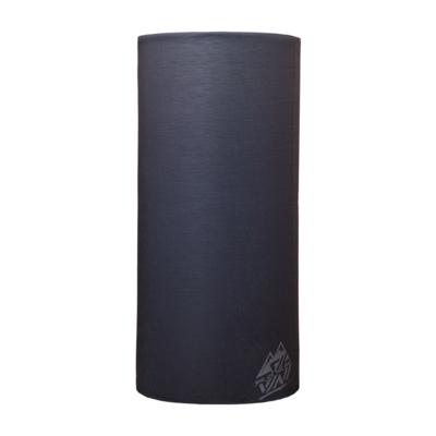 Einzelne Schicht multifunktional Schal Silvini Motivo UA1730 schwarz / grau