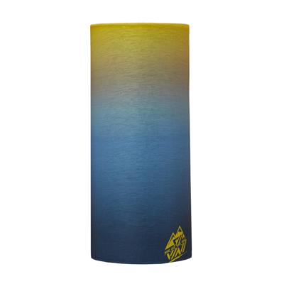 Einzelne Schicht multifunktional Schal Silvini Motivo UA1730 blau