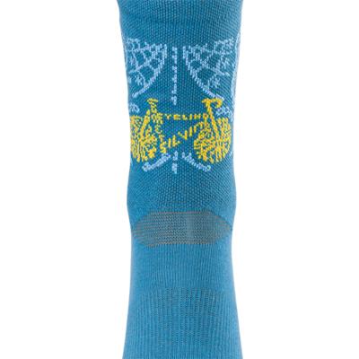 Radsport bullen Socken Silvini Avella UA1815 blue, Silvini