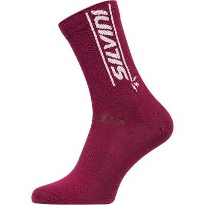 Radsport bullen Socken Silvini Avella UA1815 punsch / weiß II, Silvini