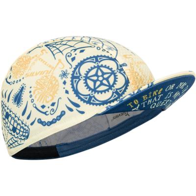 Caps Radsport Silvini Räume UA1816 gelb / blau, Silvini