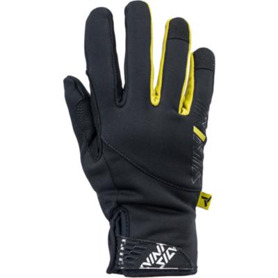 Damen Handschuhe Silvini Ortles WA1540 schwarz-gelb, Silvini