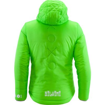 Kinder Jacke Silvini Primaloft Seisa CJ1300 green, Silvini