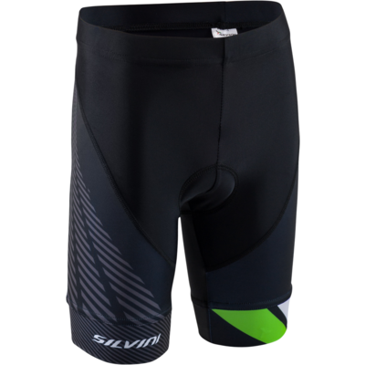 Kinder Radsport Hose Silvini Team CP1436 black/green