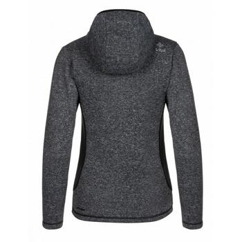 Frauen Fleece-Sweatshirt Kilpi IRINA-W Schwarz, Kilpi