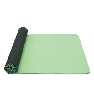 Unterlage  Yoga YATE Yoga Mat doppelschicht / grün / material TPE, Yate