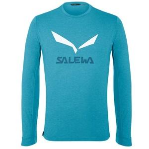 T-Shirt Salewa SOLIDLOGO DRY M L/S TEE 27340-8989