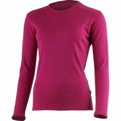 Frauen merino sweatshirt Lasting BERTA-9088 schwarz, Lasting