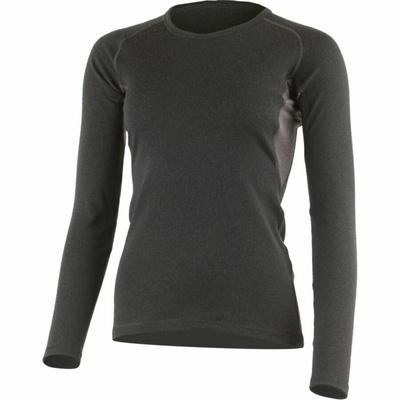 Damen Lasting Merino Sweatshirt BERTA-9088 black, Lasting