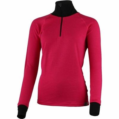 Merino-Sweatshirt Lasting KAMILA-4799 Rosa, Lasting