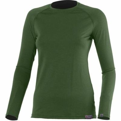 Damen Merino T-Shirt Lasting Atila green, Lasting