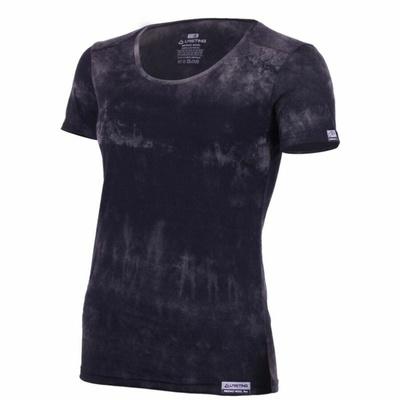 Damen Merino T-Shirt Lasting BRENA-9090 black Batik, Lasting