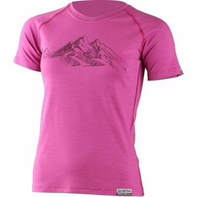 Merinowolle für Frauen hemd Lasting mit der Hila-Presse Rosa, Lasting