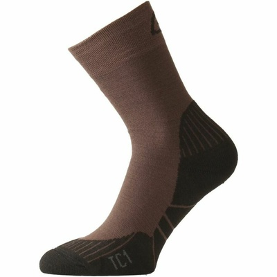 Socken funktionell Lasting TC1-721 Brown