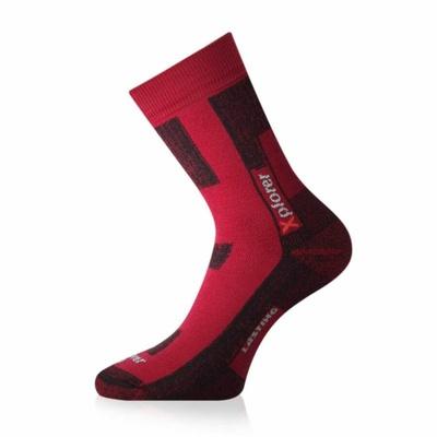 Socken funktionell Lasting TKG-328 rot, Lasting