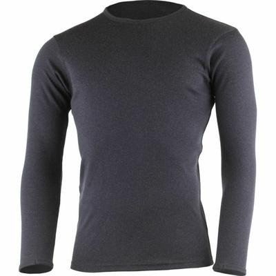 Männer merino-Sweatshirt Lasting BELO-5959 Blau, Lasting