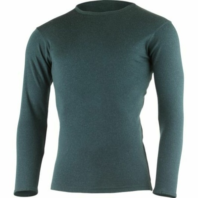 Herren merino sweatshirt Lasting BELO-5757 kerosin, Lasting