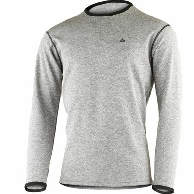 Männer merino-Sweatshirt Lasting WM1-3189 grau, Lasting