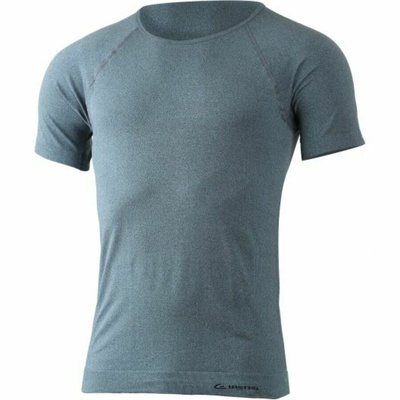 Männer funktionell Hemd Lasting MOS-5880 Blau Haar hervorhebung