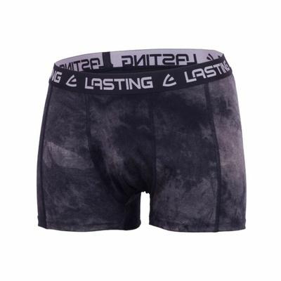 Herren Merino Boxershorts Lasting GUT black, Lasting