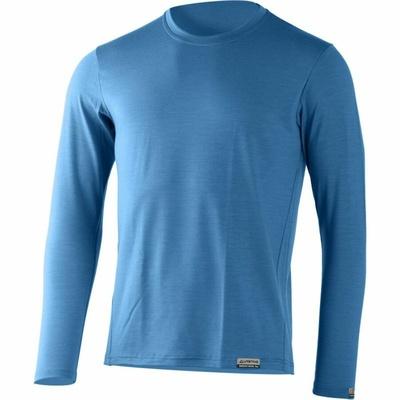 Herren Merino hemd Lasting ALAN-5353 blau, Lasting
