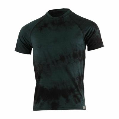 Herren Merino T-Shirt Lasting Bokos black Batik, Lasting