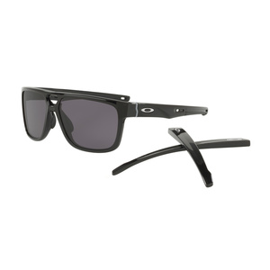 Sonnen Brille OAKLEY Crossrange Patch PolBlk w/ Warm Grey OO9382-0160, Oakley