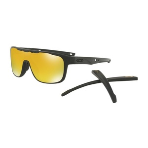 Sonnen Brille OAKLEY Crossrange Shield Mtt Black w/ 24K Irid OO9387-0631, Oakley
