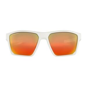 Sonnen Brille OAKLEY Ziellinie Matte White w/ PRIZM Ruby, Oakley