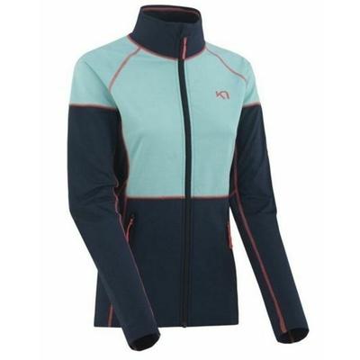 Damen Sport- Sweatshirt Kari Traa Maria F / Z Naval, Kari Traa