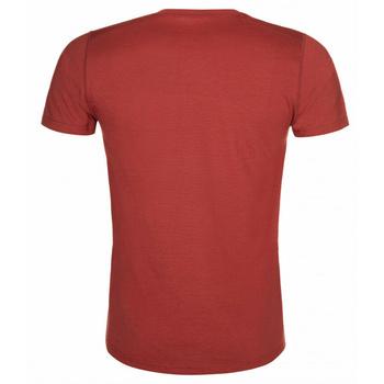 Männer funktional hemd Kilpi MERIN-M Dunkelrot, Kilpi