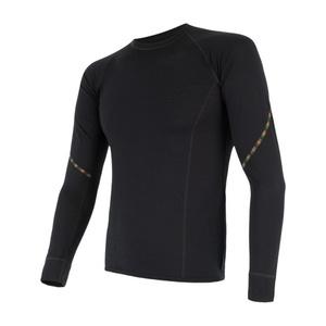 Herren T-Shirt Sensor MERINO AIR black 17200005, Sensor