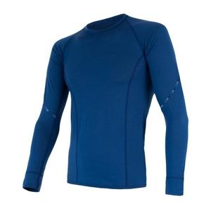 Herren T-Shirt Sensor MERINO AIR dark  blue 17200006, Sensor