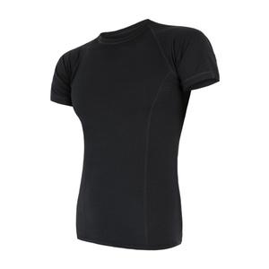 Herren T-Shirt Sensor MERINO AIR black 17200003, Sensor