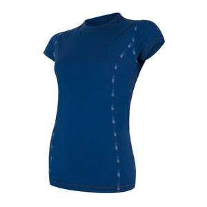 Damen T-Shirt Sensor MERINO AIR dark  blue 17200012, Sensor