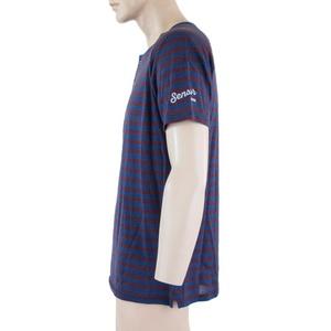 Herren T-Shirt Sensor SENSOR MERINO AIR PT blau / burgund 18200012, Sensor