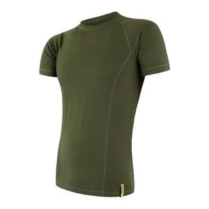 Herren T-Shirt Sensor MERINO DOUBLE FACE safari 17200030, Sensor
