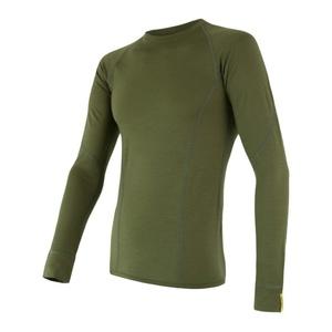 Herren T-Shirt Sensor Merino Wool Active safari 17200019, Sensor