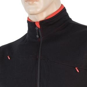 Herren Sweatshirt Sensor Merino Obere Fullzip black 17200041, Sensor