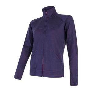 Damen Sweatshirt Sensor MERINO UPPER violet 18200039, Sensor