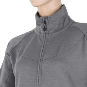 Damen Sweatshirt Sensor MERINO UPPER grey 18200040, Sensor